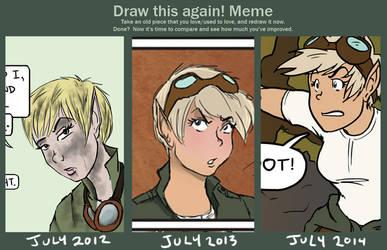 Draw this again- Nova Petrov! by Le-RenardRoux