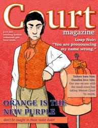 Loup Noir- Court Magazine by Le-RenardRoux