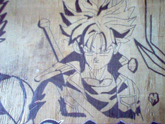 Trunks desk drawing by mitsi