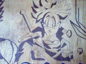 Trunks desk drawing