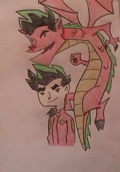 The american dragon:colour