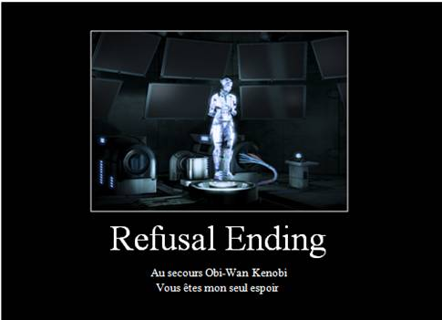 mass effect 3 refuse ending relationship
