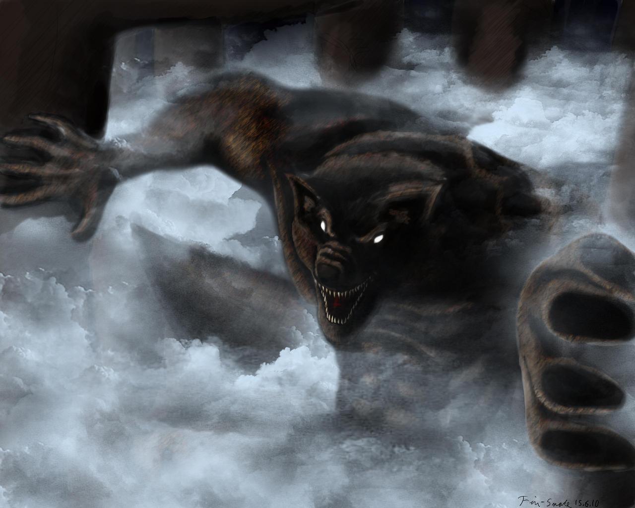 Werewolf by Fin-Snake