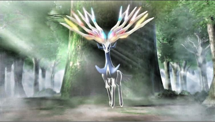 Pokémon X et Y Nouveautés ! Donnez votre avis ! Xerneas_the_majesty_by_houiskingchevron-d5r11v9