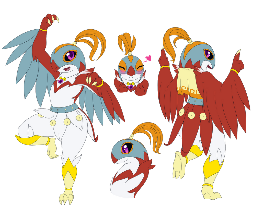 Maresol la Hawlucha by ShadowScarKnight