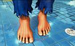 Street Fighter V Akuma's feet