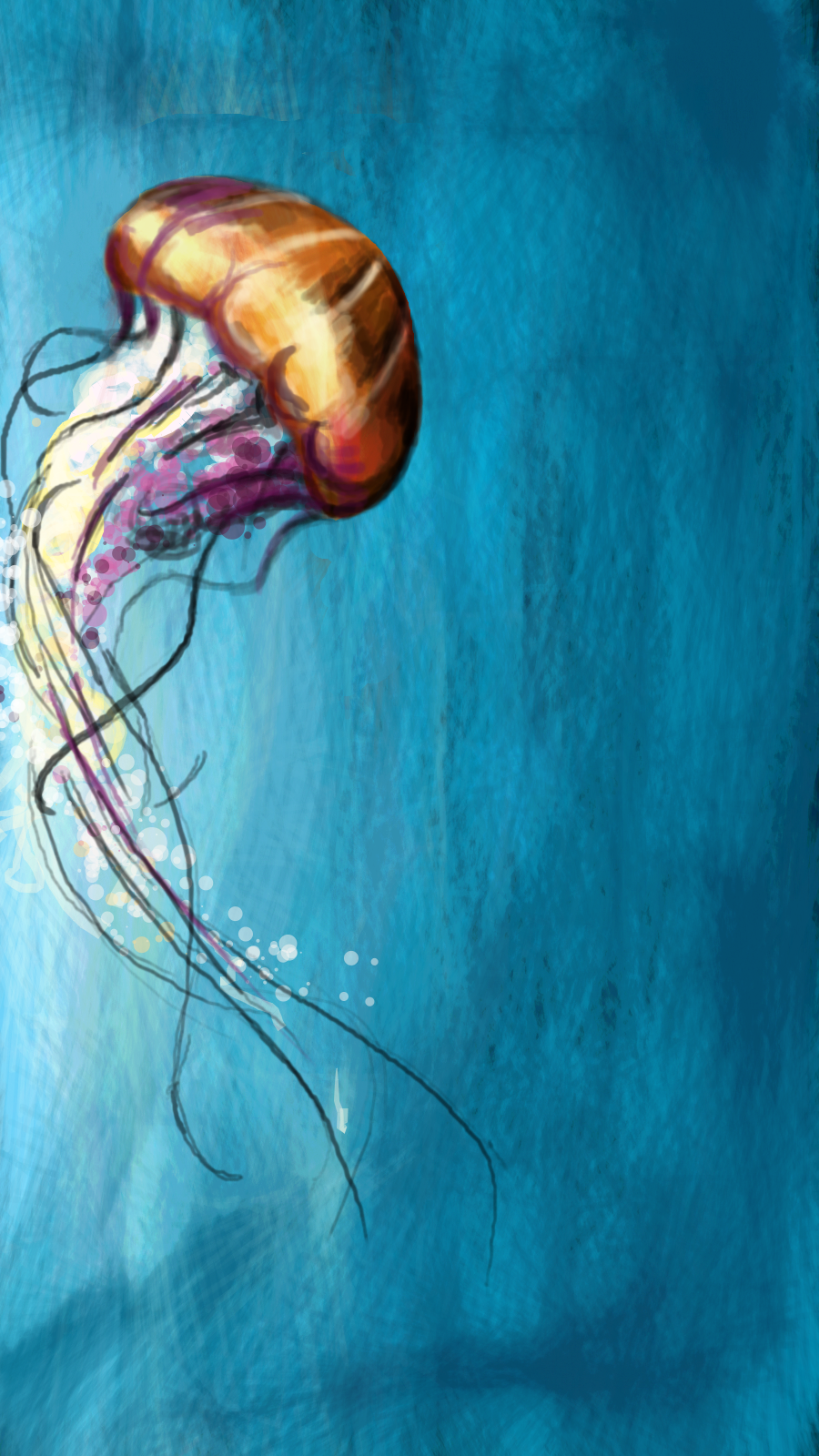 a jelly fish by SuperMonpo
