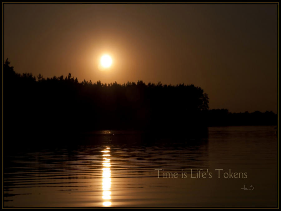 Time is Life's Tokens by ES