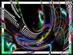 Neon Fractal by EinStud