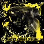 Abstract Steelers 1 by BL8ant
