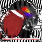 Abstract Steelers 2 by Compusician