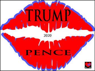 Trump Pence 2020 by ES