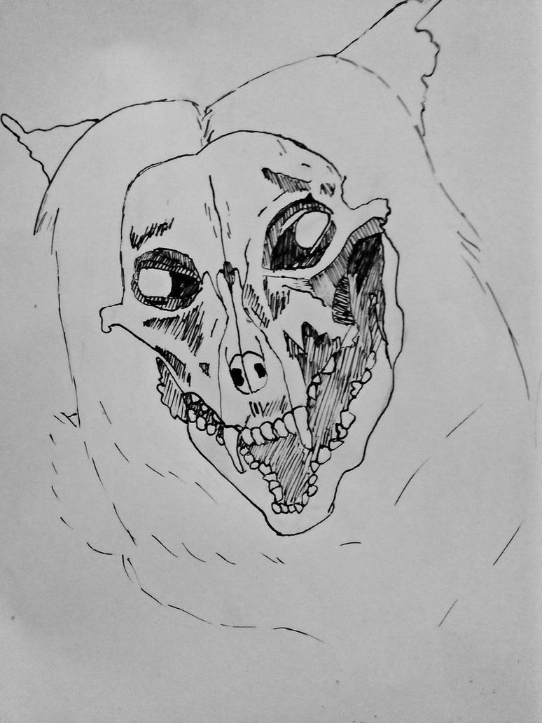 Rough line art attempt by TaiMinori
