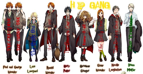 Harry Potter Gang By Fastpitchsoftball101 On Deviantart