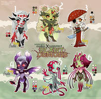 PLANT DEMON AUCTION [CLOSED] by Mo0gs