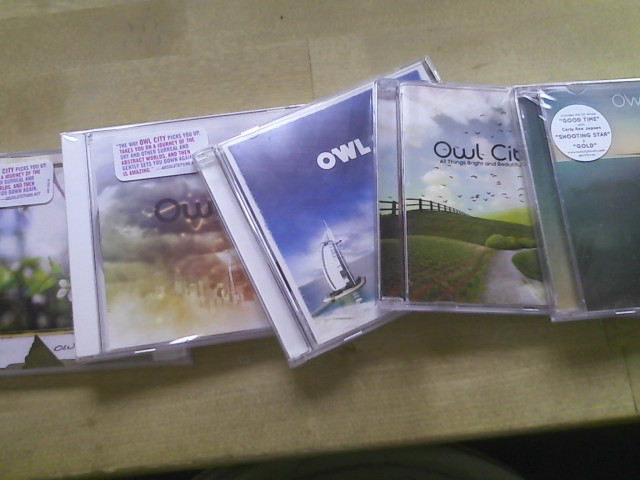 My Owl City Albums by Graaulven on DeviantArt Of June Owl City