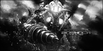 The Black And White Version Of The Bioshock Collab by JROD707
