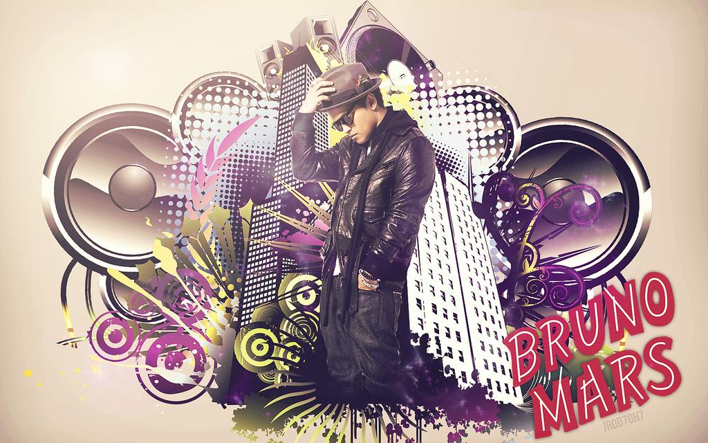 Bruno Mars Wallpaper By JROD707 On DeviantArt