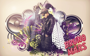 Bruno Mars Wallpaper by JROD707