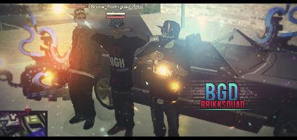 Brikksquad Gangster Disciples - SA-MP Family/Gang