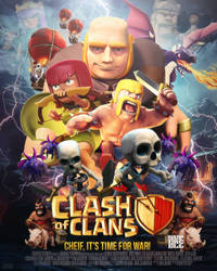 Clash of Clans Movie Poster Contest Entry