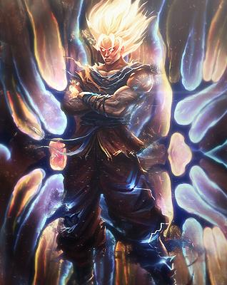 Goku Smudge by JROD707