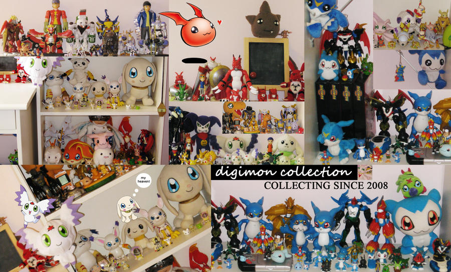 My whole Digimon Colle...