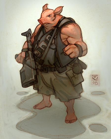 Sci-fi Comic concept 07 by tim-mcburnie