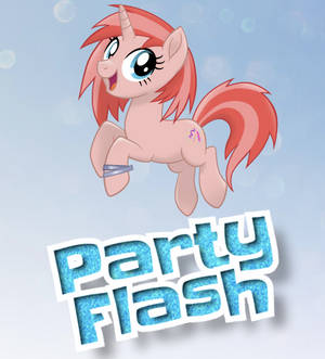 My New OC Party Flash in MLP Movie Style