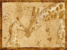 Coffee meets Giraffes by LadyTinuz