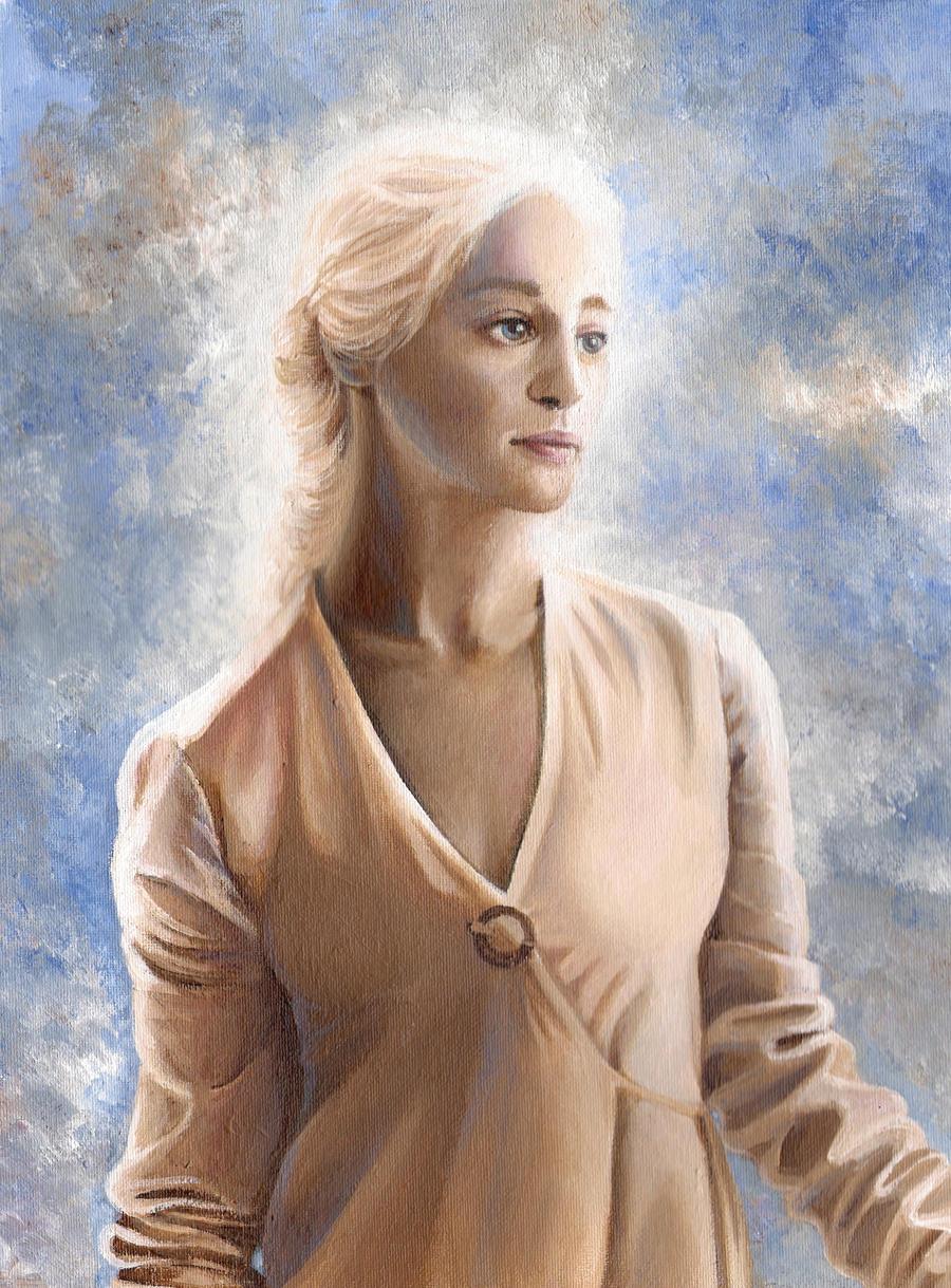 Daenerys Targaryen - Acryl by LadyTinuz