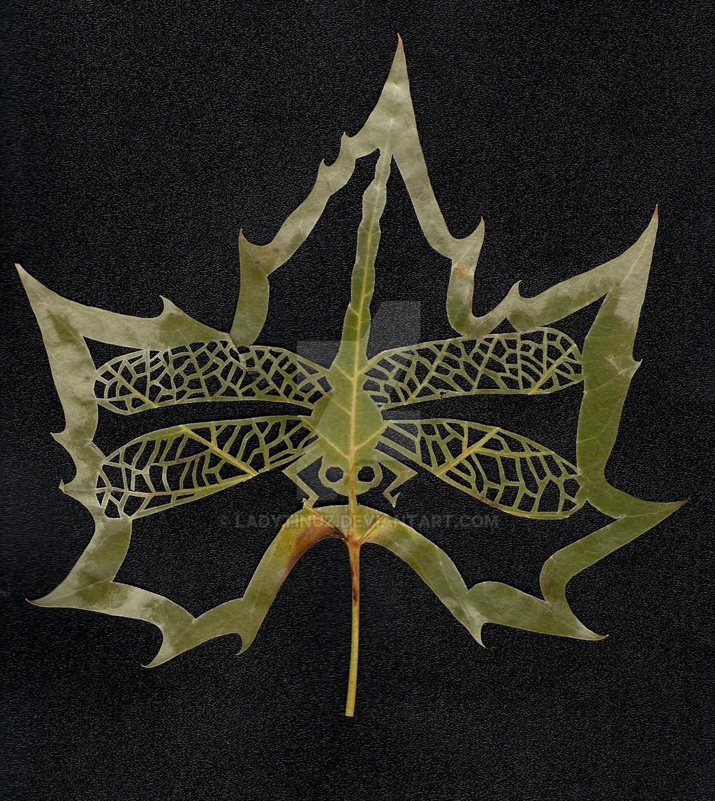 Fall-ing Leaf III by LadyTinuz