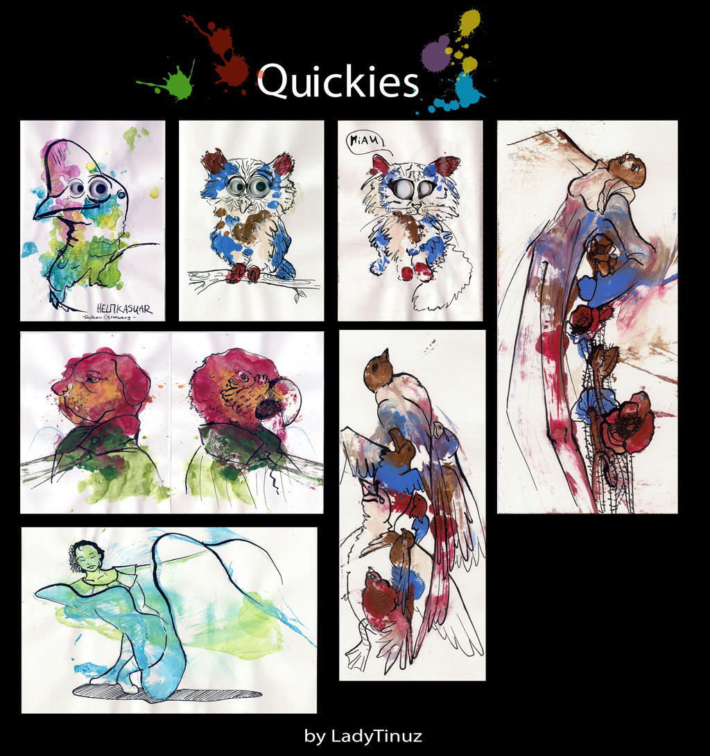 Quickies II by LadyTinuz