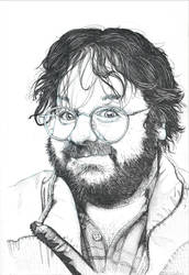 Sir Peter Jackson with Liner