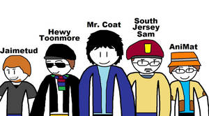 That Fellow in the Coat members by blackevil915