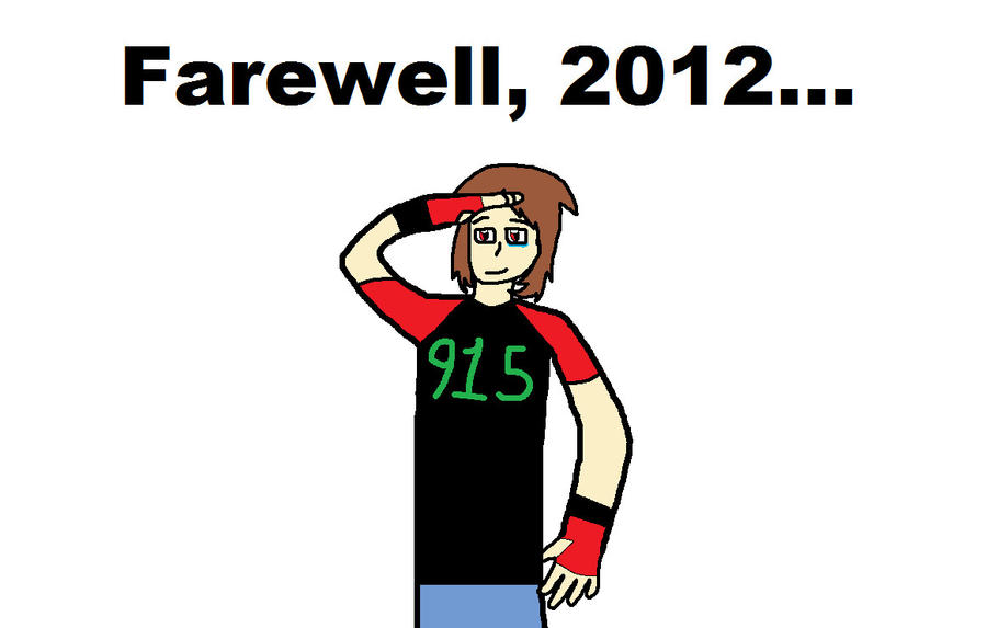 Farewell 2012 by blackevil915