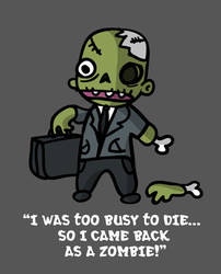 Business Zombie by kidsrsmelly