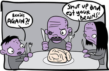 Eat you brains by kidsrsmelly