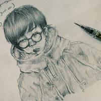 EXO K - Chanyeol by yanawookie