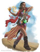 Garundi Alchemist - Pathfinder by DamonWestenhofer