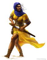 Jasilia Khemet - Pathfinder by DamonWestenhofer
