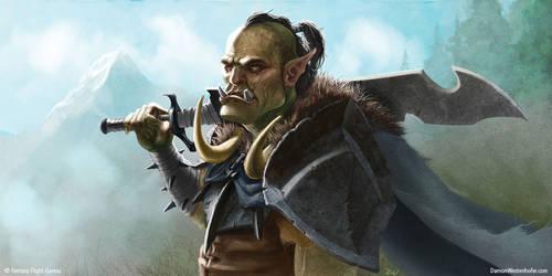 Wandering Orc - DamonWestenhofer