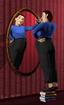 3D Character Herr Braadefink
