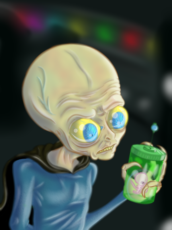 Alien.2. by GalexyNumber24