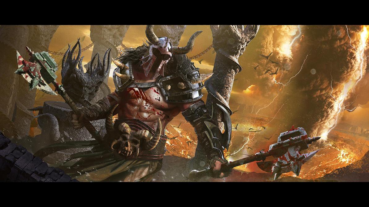 Barbarian by Diegodealmeida