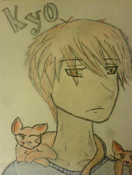 Kyo Sohma by questionette