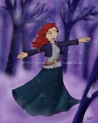 Winter Twirl by Purplefire40