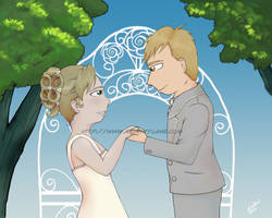 Wedding Joy by Purplefire40