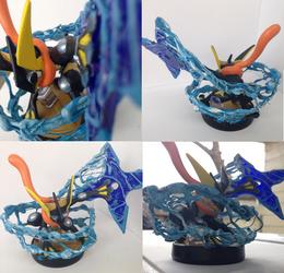 Greninja Custom Amiibo