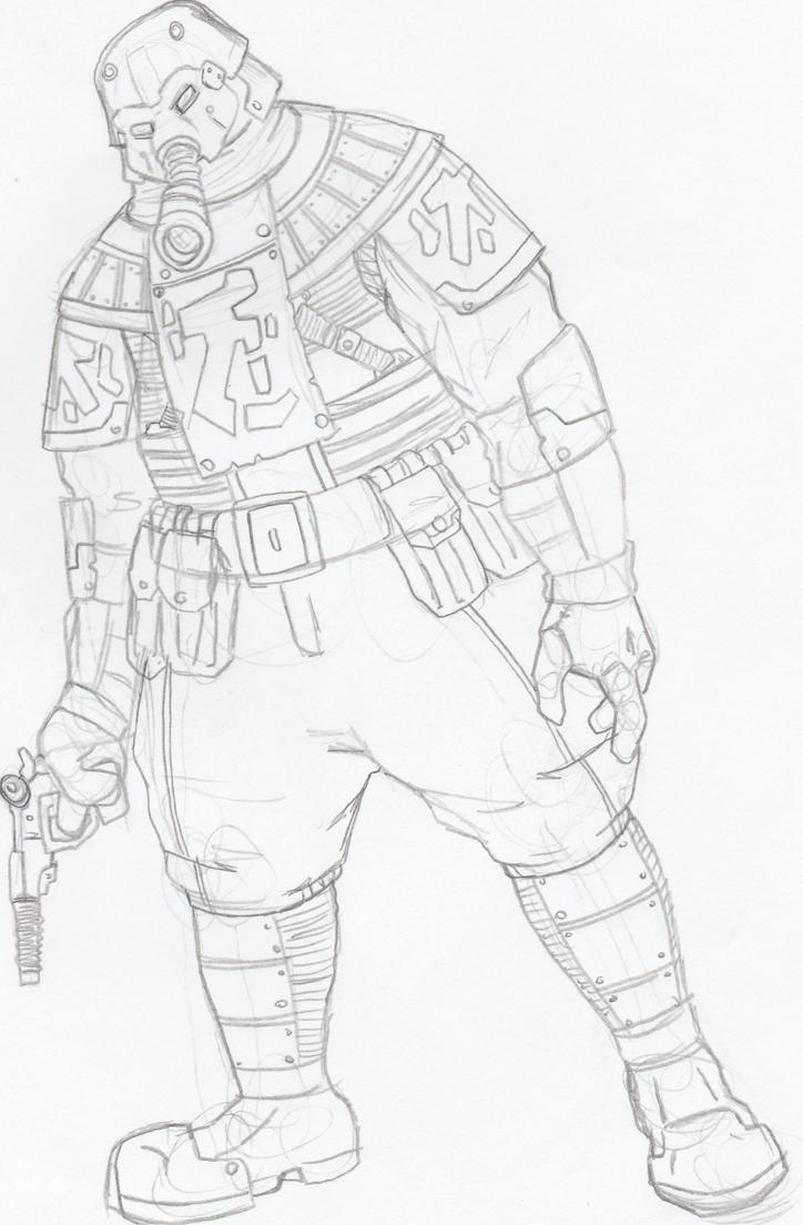 trooper by Angryspacecrab